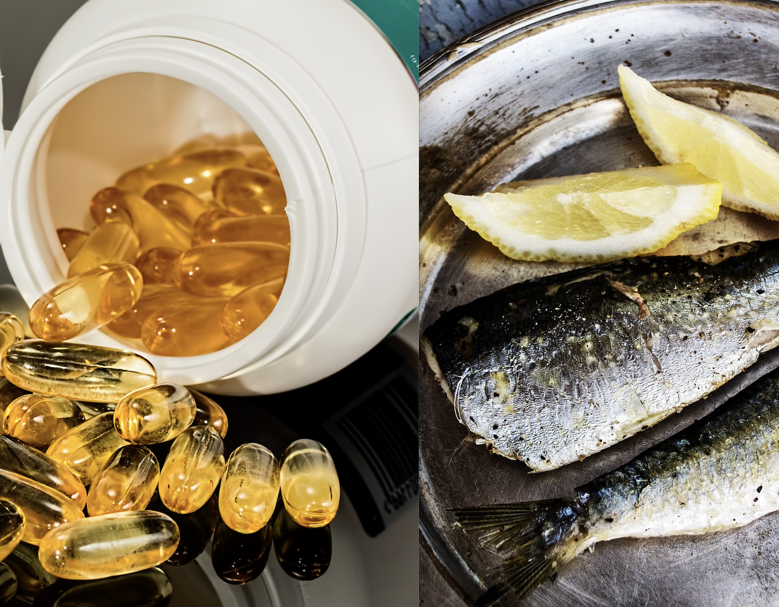 Fisk eller Piller?  Fakta om Omega-3